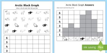 Arctic Block Graph - arctic, block, graph, block graph, activity, cold, snow