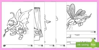 Sleeping Beauty Colouring Sheets - sleeping beauty, colouring, colouring sheets, colouring pages, colouring in sheets, colouring activity, wet play, games