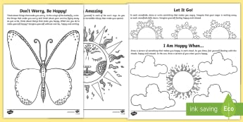 Mindfulness Focus Activity Sheets - mindfulness, focus, activity, activity sheets, colouring, colour