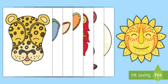 Tales from Africa Character  Cut-Outs - cut-outs, Tinga Tinga, Africa, Tales from Africa, class display