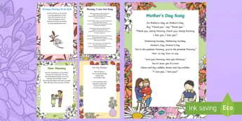 Mother's Day Verse Inserts for Cards - mother's day, poem, verse, song, card, mother's day cards, mother's day craft, mothering Sunday,