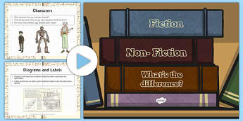 Fiction and Non-Fiction Whats the Difference - fiction , non-fiction, difference between fiction and non-fiction, text type