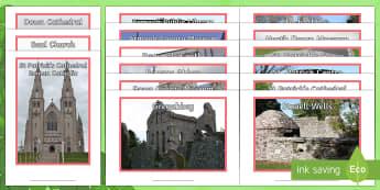 St Patrick's Trail Display Photos - NI, St. Patrick's Day, St. Patrick's Trail, Patrick's Way, locations, Northern Ireland, The World