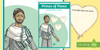 Prince of Peace Large Display Poster