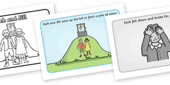 Jack and Jill Sequencing - Jack and Jill, nursery rhyme, sequencing, rhyme, rhyming, nursery rhyme story, nursery rhymes, Jack and Jill resources