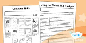 Computing: Computer Skills Year 1 Unit Home Learning Task