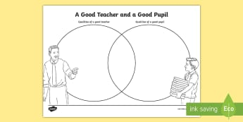 Year 4 A Good Teacher and a Good Pupil Activity Sheet - back to school, first week back, all about me, new school year, KS2, worksheet, September, behaviour