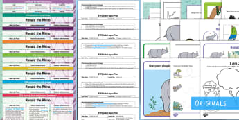 EYFS Ronald the Rhino Lesson Plan Enhancement Ideas and Resource Pack - planning, EYFS, Early Years, Early Years Planning, Adult Led, Enhancements, Continuous Provision, Twinkl Ficti