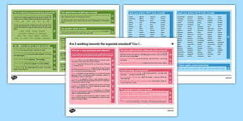 Y6 Writing Assessment I Can Statements with Worked Examples - writing, year 6, Y6, assessment, exemplifications, assessment framework, child-friendly, checklist, I can statements, guidance