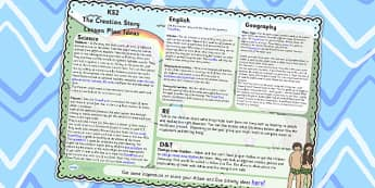 The Creation Story Lesson Plan Ideas KS2 - religion, lesson plan