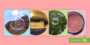 Bubbles Display Photo Cut-Outs - Requests KS1, bubbles, soap, water play,