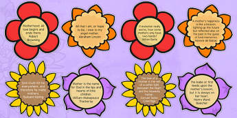 Elderly Care Mother's Day Quotes - Elderly, Reminiscence, Care Homes, Mother's Day, activity, memory