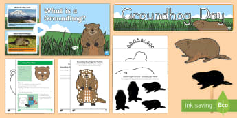Groundhog Day Early Childhood Resource Pack - Groundhog Day, national american days, holidays, national holidays