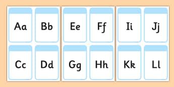 Alphabet Cards - Alphabet frieze, Letter posters, Display letters, A-Z letters, Alphabet flashcards, foundation stage literacy, KS1