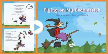 Flying on My Broomstick Song PowerPoint