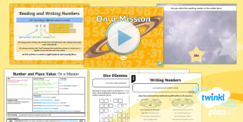 PlanIt Y3 Number and Place Value Lesson Pack Read and Write Numbers (3) - problem solving, maths mastery, year 3, fun maths, hundreds, tens, ones, number value, written form,