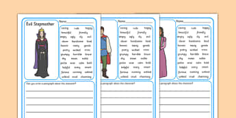 Character Description Writing Frames - Character description writing frames, characters, different, description, describing, describe, character, how is, what does it look like, kind of person, creative, writing, independent, writing template, writin