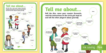 Getting to Know You Board Game - getting to know, board game