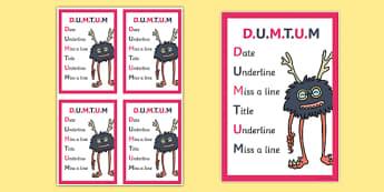DUMTUM Book Prompt