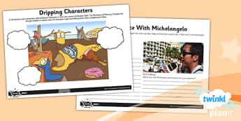Art: European Art LKS2 Unit Home Learning Tasks