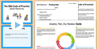 SEN Reforms Training Pack Secondary - sen, reforms, training, pack, secondary, train
