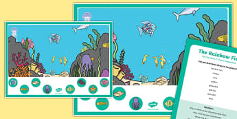 Hunt the Fish Can you Find...? Poster and Prompt Card Pack