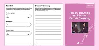 GCSE Poetry Robert Browning and Elizabeth Barrett Browning Poets' Study