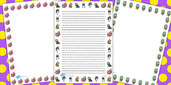 Monster Page Borders - monster, page borders, borders, page