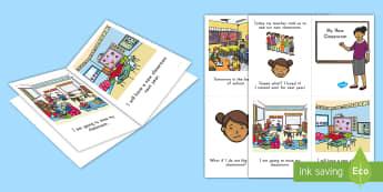 Classroom Transition Emergent Reader - Transition, New Classroom, Transition Worries