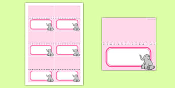 Baby Shower Editable Food Labels Pink Themed - baby shower, baby, shower, newborn, pregnancy, new parents, food labels