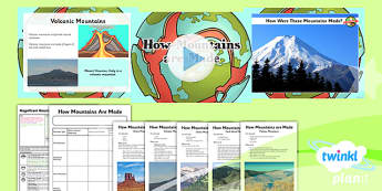 Geography:  Magnificent Mountains: How Mountains Are Made Year 5 Lesson 4