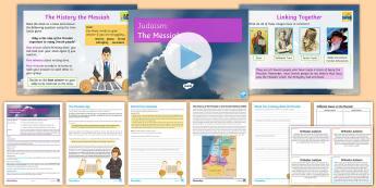 Judaism: The Messiah Lesson Pack - Judaism, Jewish, GCSE, KS4, teachings, torah