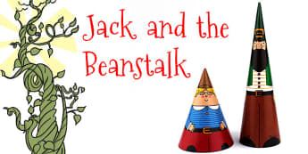 Jack and the Beanstalk Cone Characters - jack and the beanstalk
