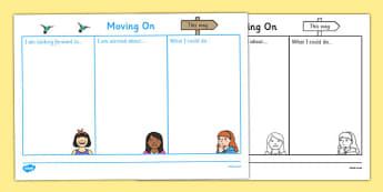 SEN Moving On Worksheet - sen, moving on, worksheet, sheet, work