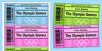 The Olympics Shooting Event Tickets - Shooting, Olympics, Olympic Games, sports, Olympic, London, 2012, event, ticket, tickets, entry, stadium, activity, Olympic torch, events, flag, countries, medal, Olympic Rings, mascots, flame, compete