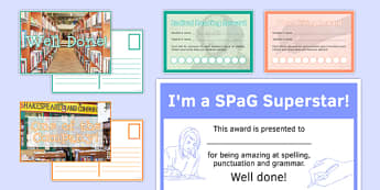 English Awards Resource Pack