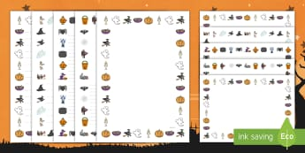 Pack de bordes: Halloween  - Bordes de Halloween, escritura