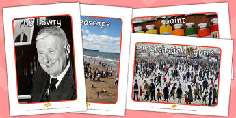 LS Lowry Display Photos - photo, displays, display, visual aid