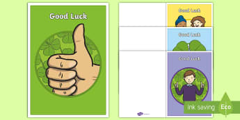 Good Luck Greetings Cards - goodbye, leaving assembly, leaving, maternity, new job.