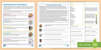 Year 3 Reading KS2 Revision Activity Mat Pack 1 - year 3, y3, reading, revision, activity mat, reading dogs, KS2 reading, English