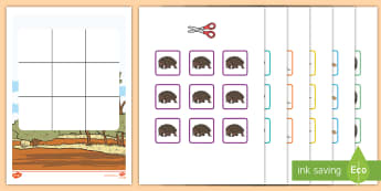 Three in a Row Australian Animals Activity - Australia, EYLF, Foundation, Game, Numeracy, Problem Solving, Counting