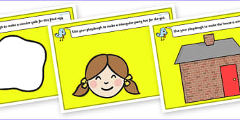 2D Shape Playdough Mats for Visually Impaired - 2D, shape, information, 2D shapes, playdough, mat, visually, impaired, visually impaired, shape information