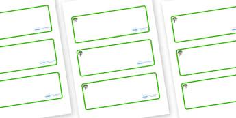 Rowan Tree Themed Editable Drawer-Peg-Name Labels (Blank) - Themed Classroom Label Templates, Resource Labels, Name Labels, Editable Labels, Drawer Labels, Coat Peg Labels, Peg Label, KS1 Labels, Foundation Labels, Foundation Stage Labels, Teaching L
