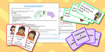 Conversation Game Pack - conversation game, pack, game, conversation