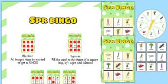 SPR Spinner Bingo - sen, sound, spr sound, spr, spinner bingo, bingo, spinner