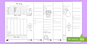 Level 1 to 2 Data Handling Activity Pack - New Zealand Maths, data handling, statistics, graphs, interpreting graphs, level 1 statistics, level