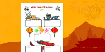 Anul Nou Chinezesc - Fișă scriere