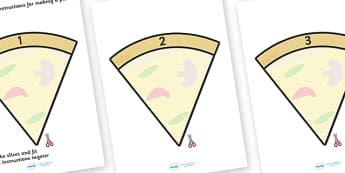 Make Your Own Pizza Writing Template Cards - make your own pizza, writing template cards, pizza instructions, own, instruction, making a pizza, how to make, a pizza, pizzas, writing template, template, templates, independent, creative, writing