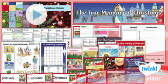 RE: The True Meaning of Christmas Year 5 Unit Pack