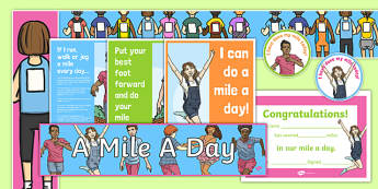 A Mile a Day  Display Pack-Scottish